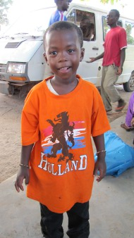 Holland promotie in Gambia